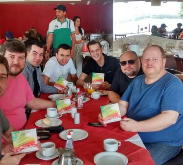 Café da manhã com Quinteto Persch, Chico Chagas e Nonato Lima - Juazeiro - BH - II Festival Internacional da Sanfona - Julho 2015